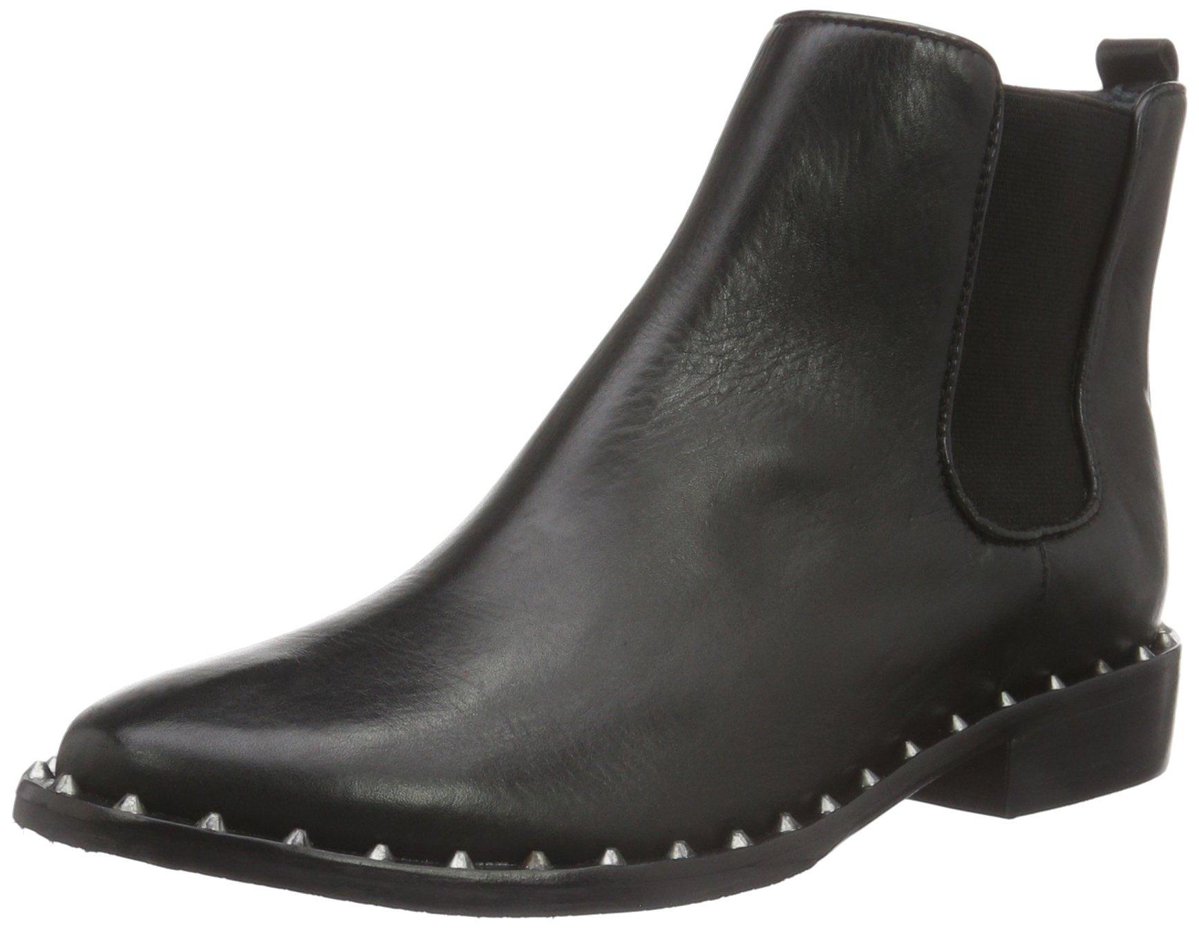 Chic Boot, Bottes Courtes Chelsea Femme - Noir - Noir, 38