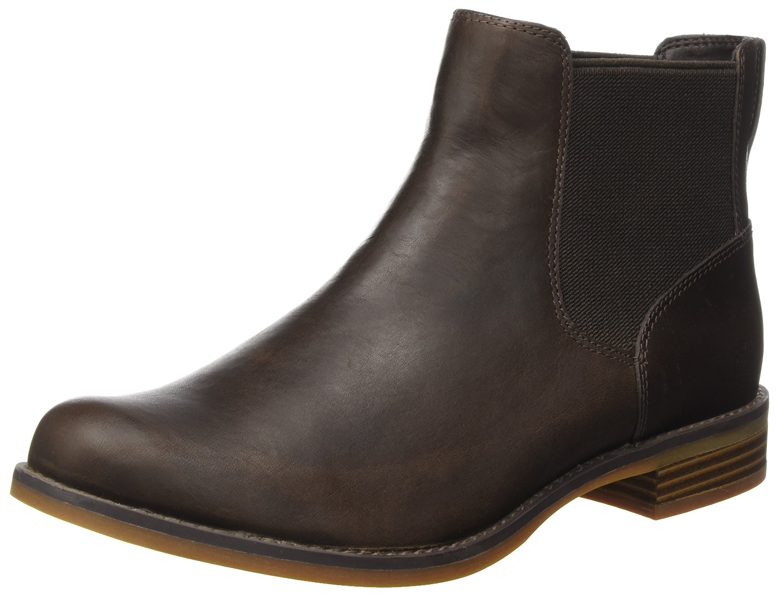 36 Femme On Chelsea mulch Marron Bottes Magby Timberland Pull wB78xAXq