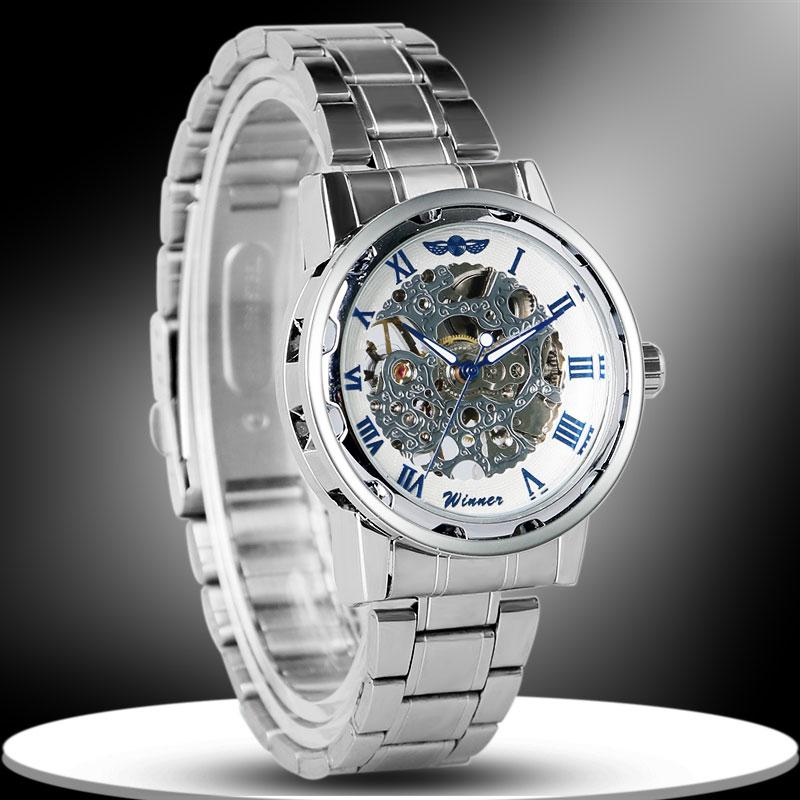 2992e06b0fc Pánské mechanické hodinky Winner JSW06IN - Glami.cz