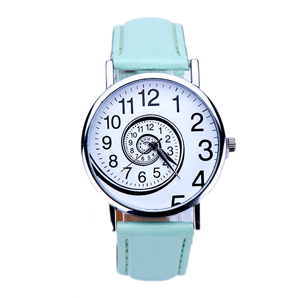 Shim Watch Dámské hodinky Spiral tyrkysové - Glami.cz 30f1b1e101