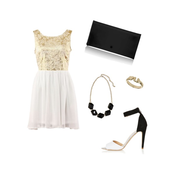 white,gold,black