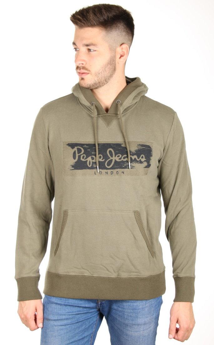 835715c074 Pepe Jeans pánska khaki mikina Woodward - Glami.sk