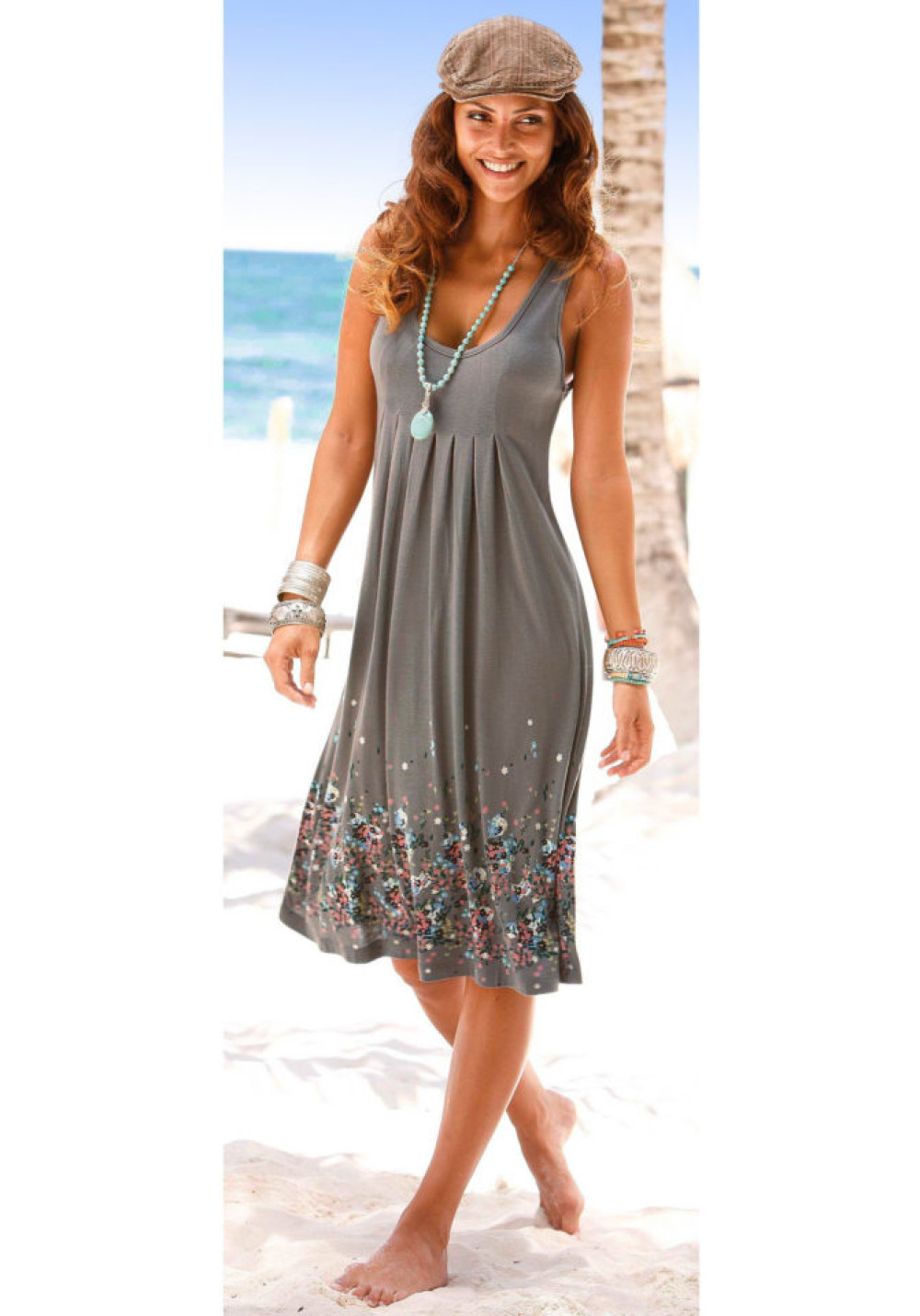 Beachtime Plážové šaty Beachtime hnedosivá 34 - Glami.sk 2ee1c14deef