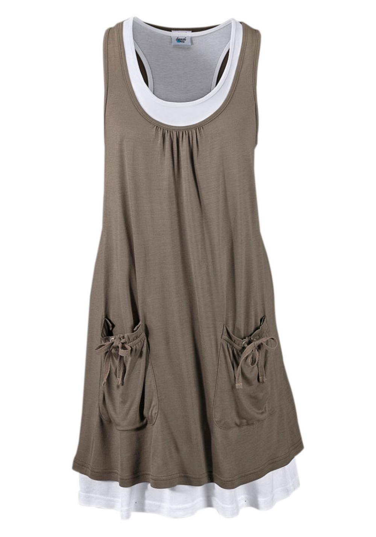 73514061c5f8 Beachtime Plážové šaty Beachtime khaki 34 - Glami.sk