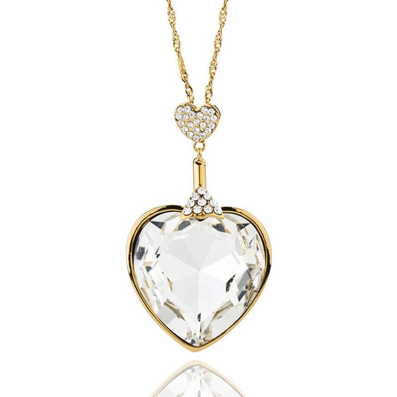 9937a6009 Éternelle Dlouhý náhrdelník Swarovski Elements - Glami.sk