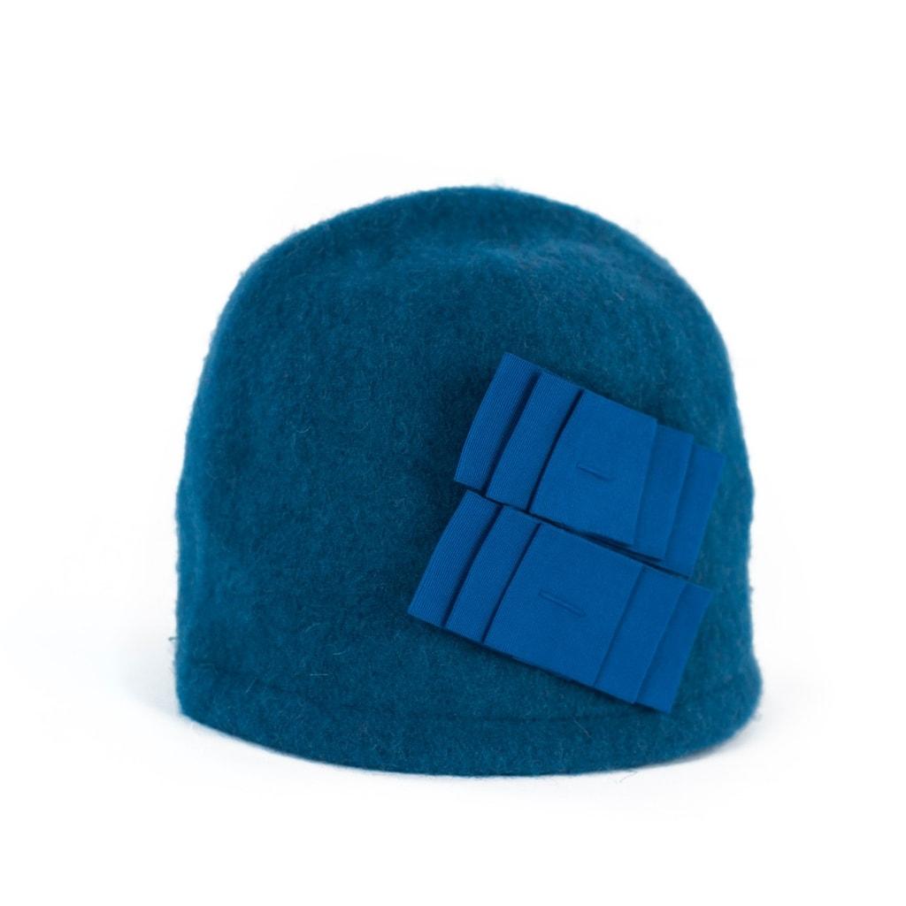 6e95ccd2291 Art of Polo Elegantní dámský zimní klobouk modrý - Glami.cz