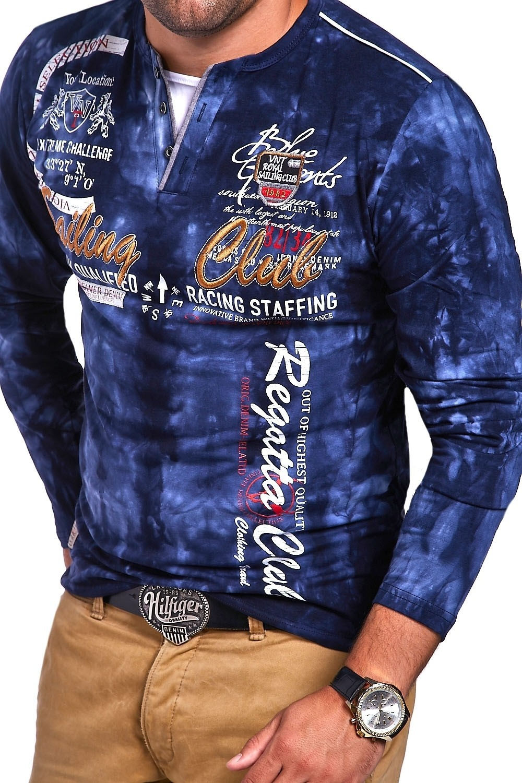 07a263f16e0 MyTrends Pánské tričko Saling Club R-0859 - Glami.sk