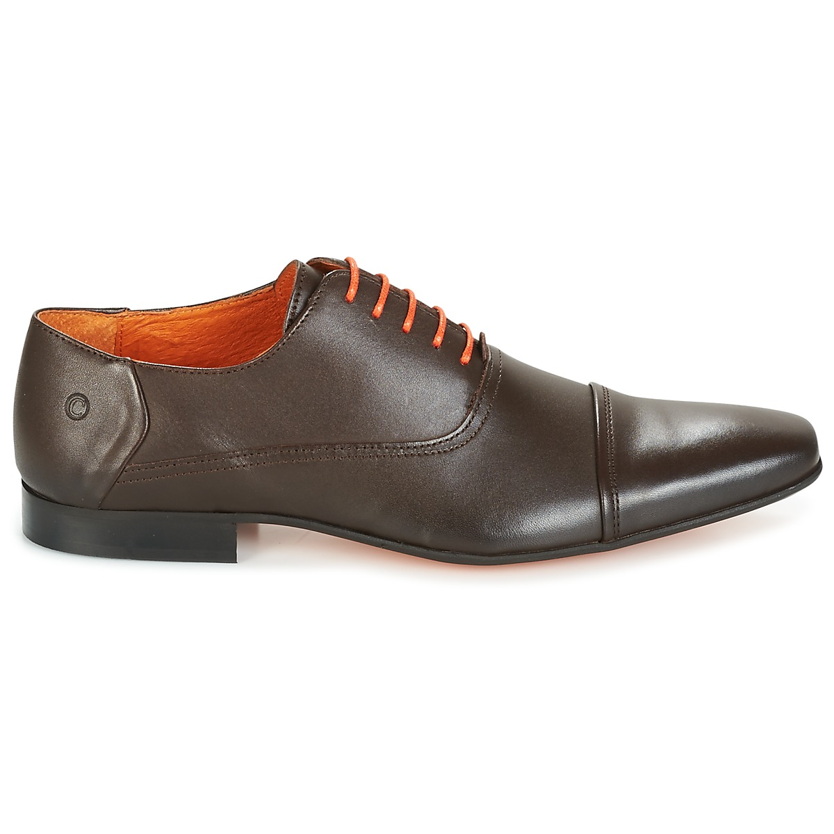 811112051100, Chaussures Derby Homme - Marron - Marron (Cognac), 44 EUDaniel Hechter