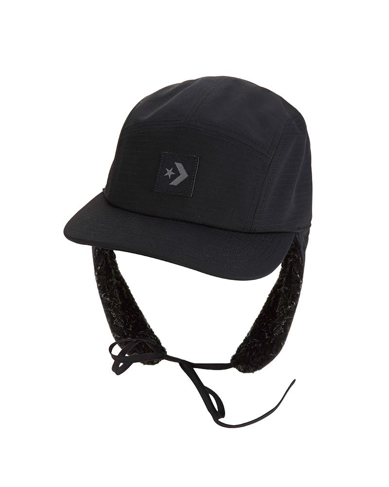 Černá kšiltovka Converse Earflap Camp Cap - Glami.cz 968d50da08