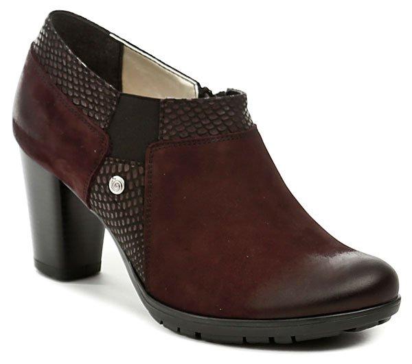 MintakaCZ Mintaka 721152 bordó dámská podzimní obuv - Glami.cz e487350207