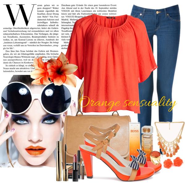 orange sensuality