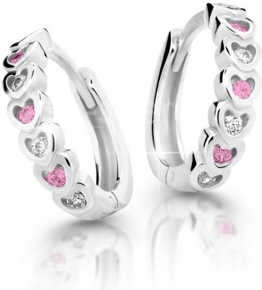 984bc9855 Cutie Jewellery Dětské naušnice Cutie C3341-B Pink - Glami.cz