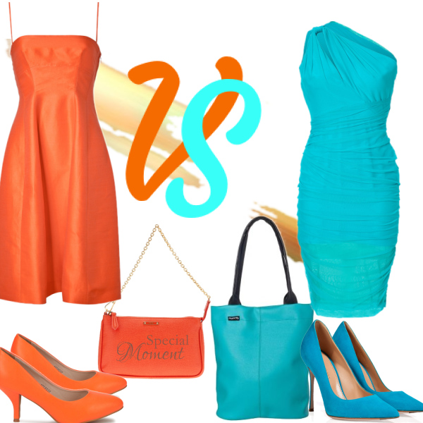 FashionDuel-Orange VS Tyrquise