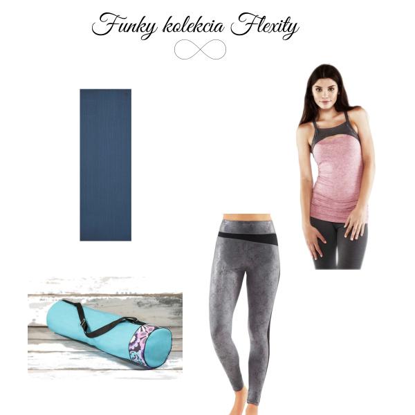 Funky kolekcia pre jogu