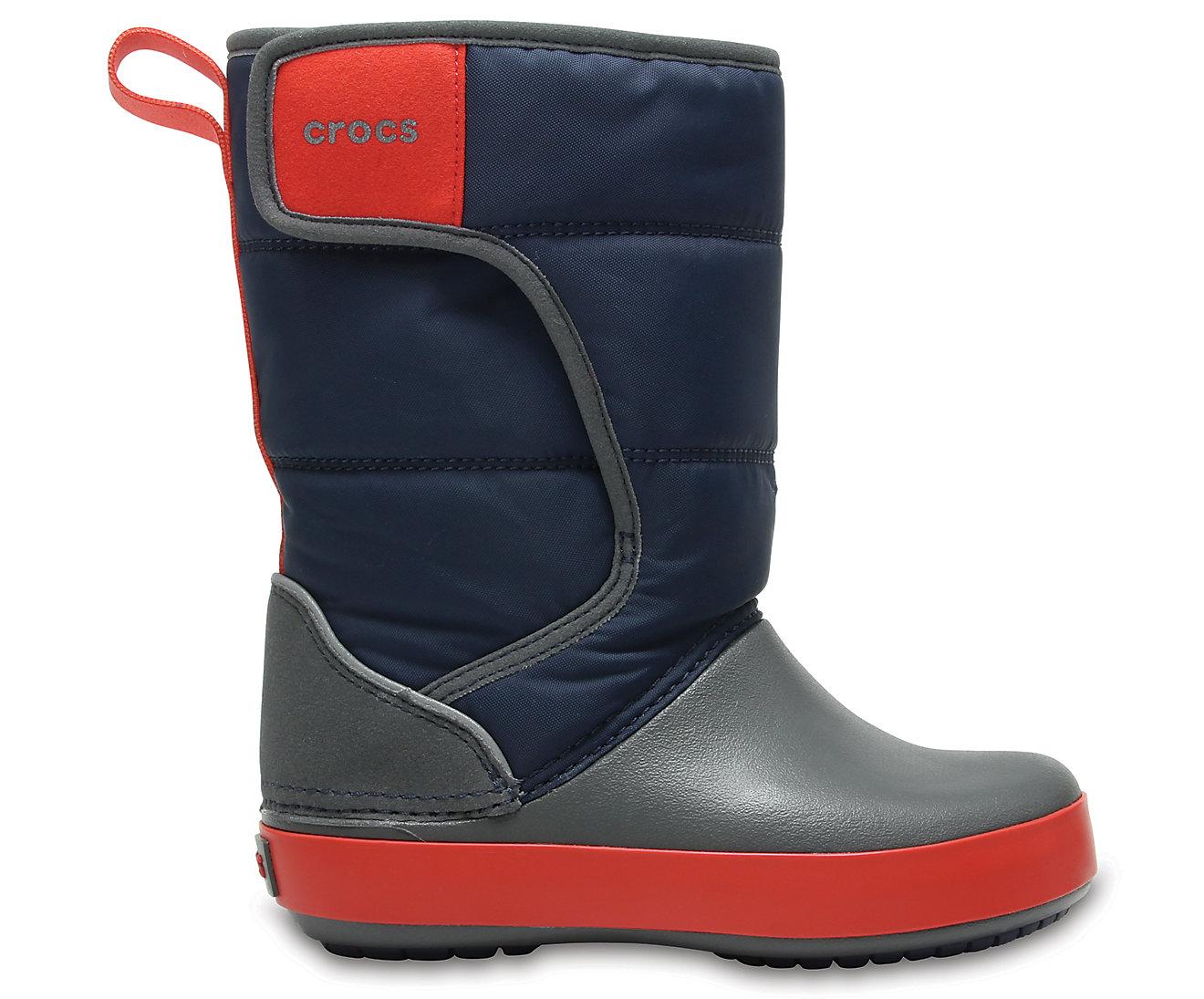 ... Snow Boot K Navy Slate Grey C10. -24%. Crocs LodgePoint ... 112d6ef3e1