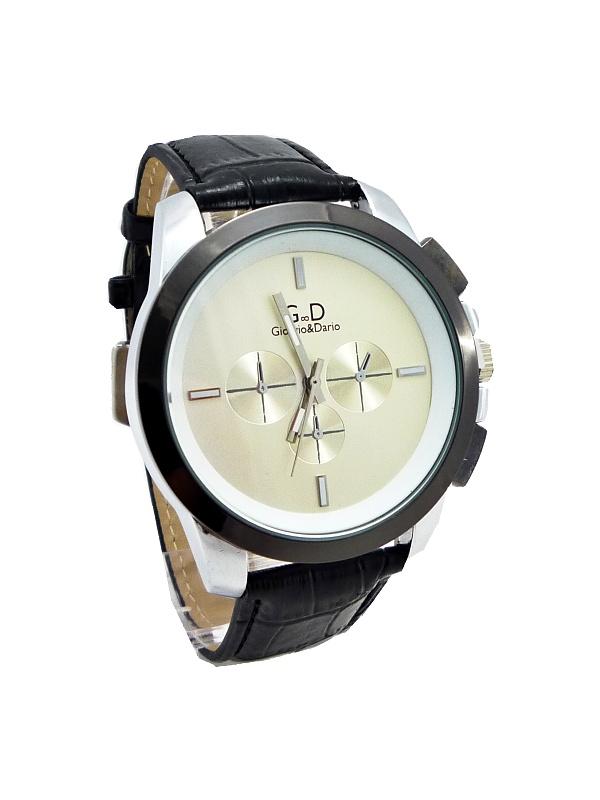 0a37ebe240c Pánské hodinky G.D Clearly černé 142ZP - Glami.cz