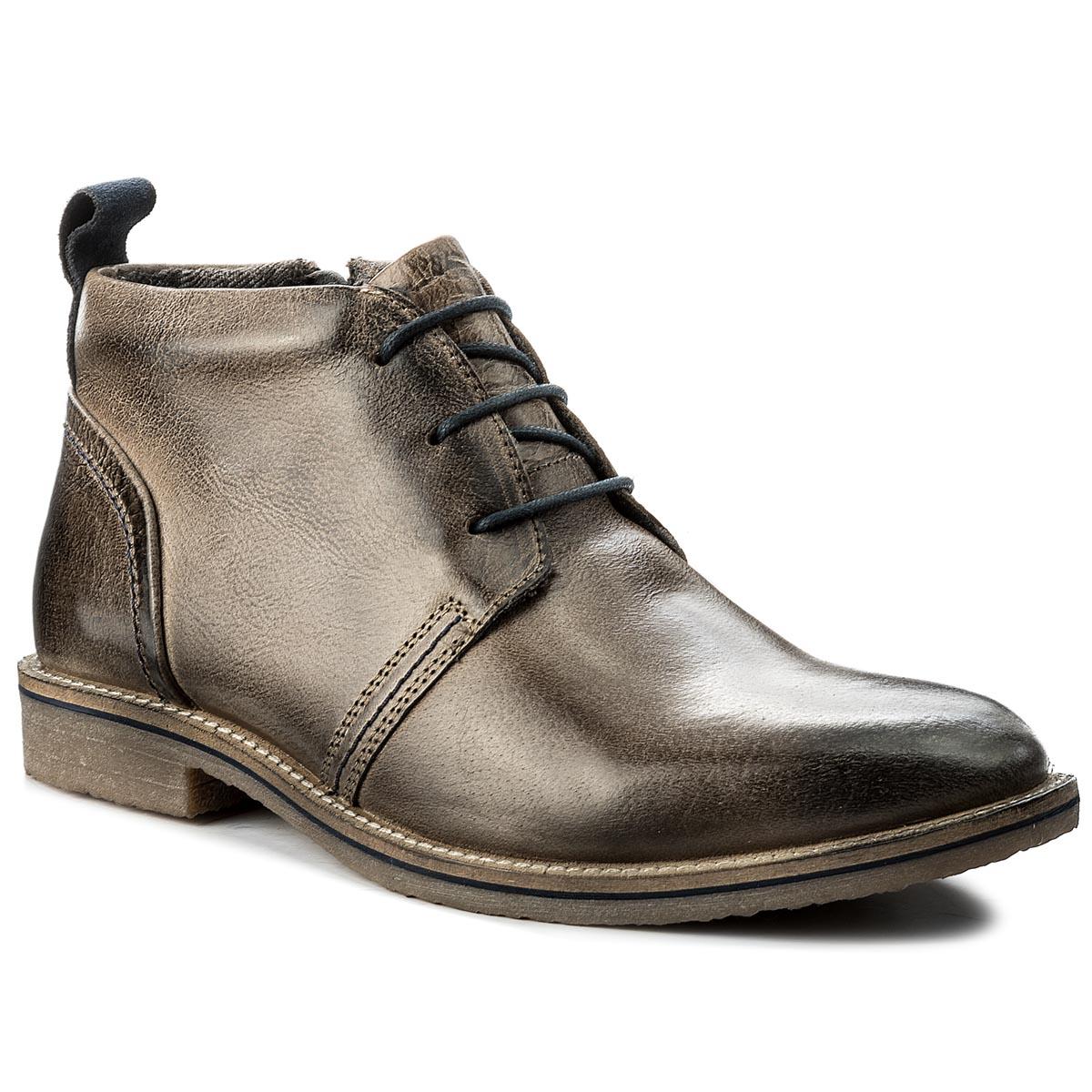 Outdoorová obuv LANQIER - 41A80 Khaki - Glami.sk f015a02a4d1