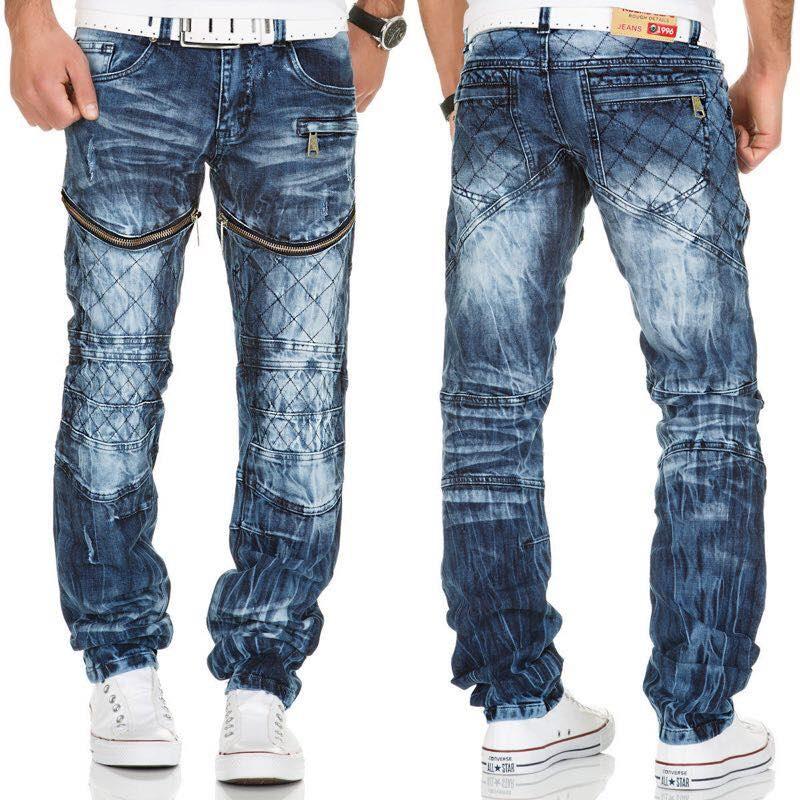 KOSMO LUPO kalhoty pánské KM132 jeans džíny - Glami.cz cbdea93e78