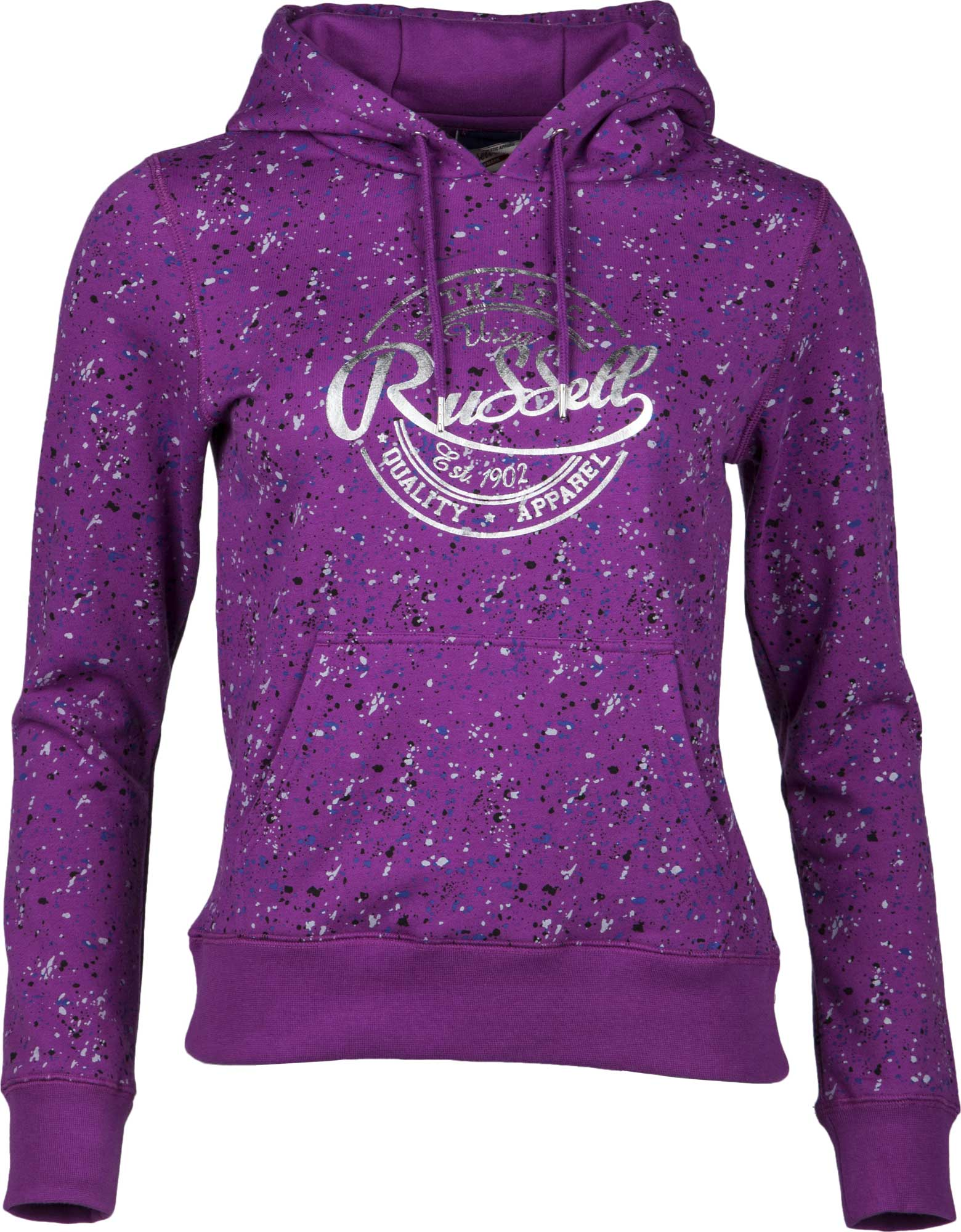 41f73d25349 Russell Athletic HOODED SWEAT WITH ALLOVER PRINT - Glami.cz