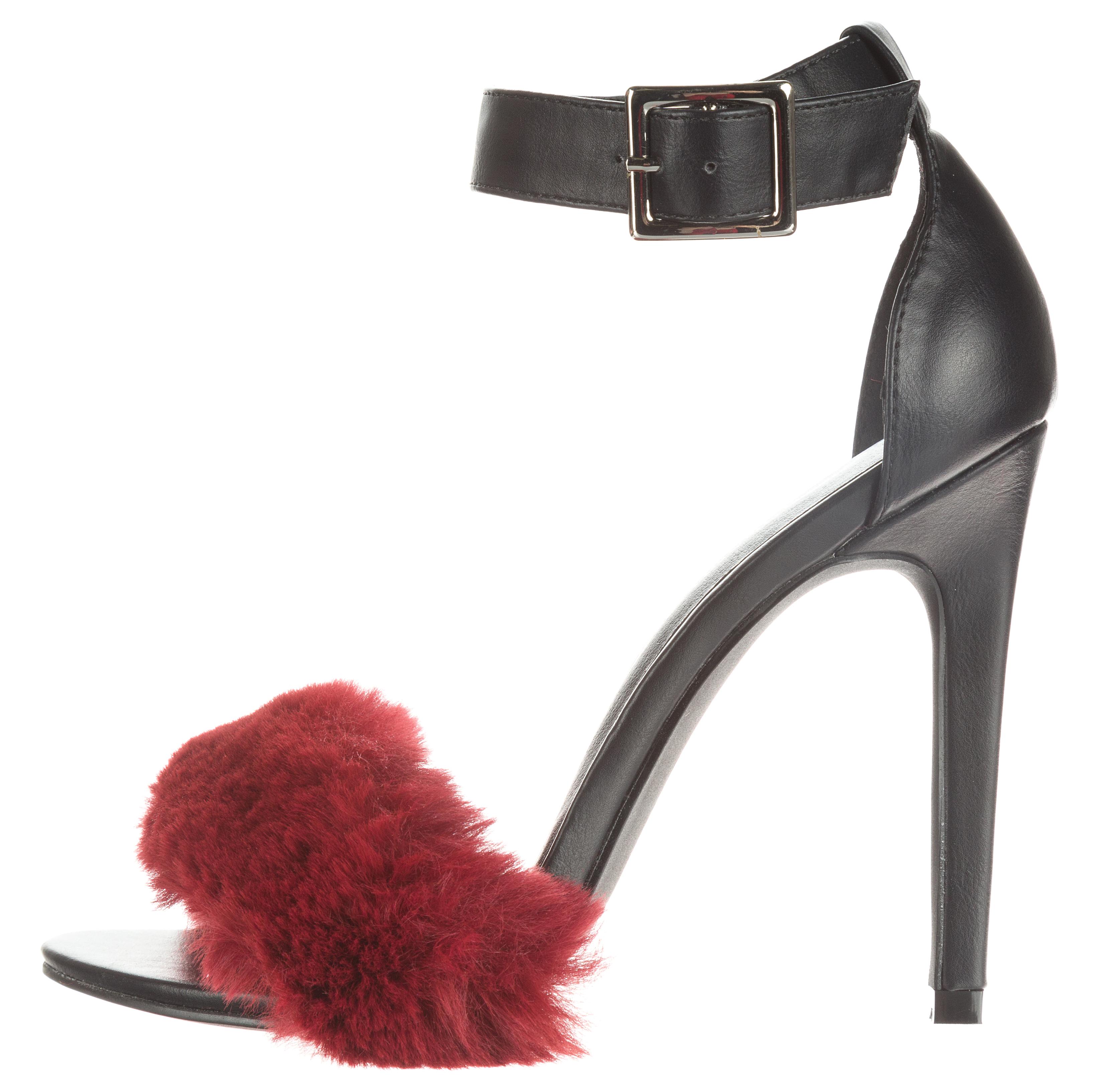 Női Silvian Heach Magassarkú cipő Fekete Piros - Glami.hu d363319b77