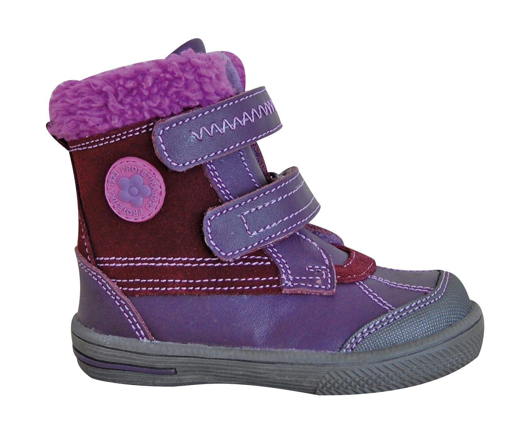 2599cbc8b3 Protetika Dievčenské zimné topánky Frenk - ružové - Glami.sk
