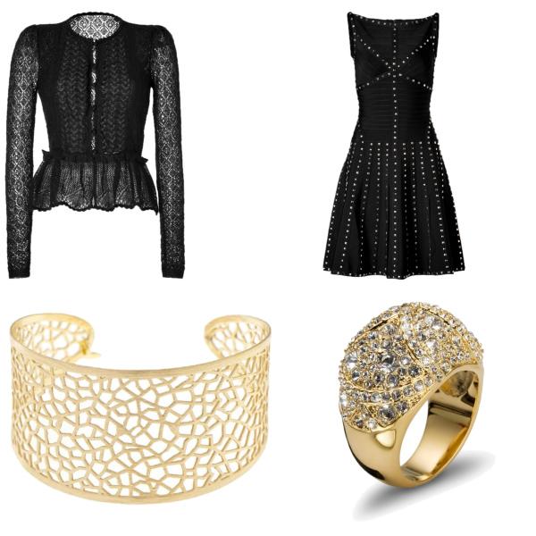 svetr,šaty,naramek,prstínek