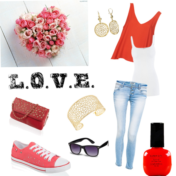 When I wear Red
