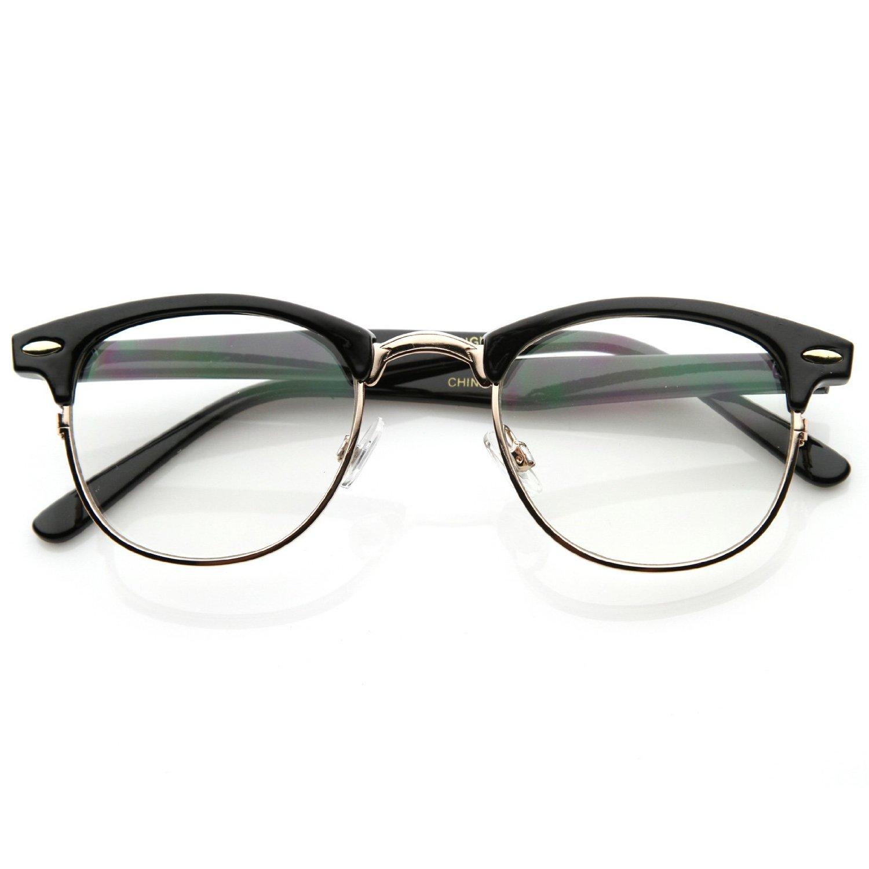 Sunmania číre okuliare Clubmaster 112 čierne - Glami.sk 3ba44d9f60f
