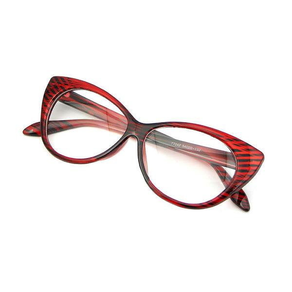 Sunmania Mačacie číre okuliare 282 červeno-čierne - Glami.sk 7bd0e89660e