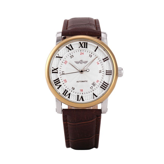 Pánské automatické hodinky Winner Gentle gold - Glami.cz de551bf8f1