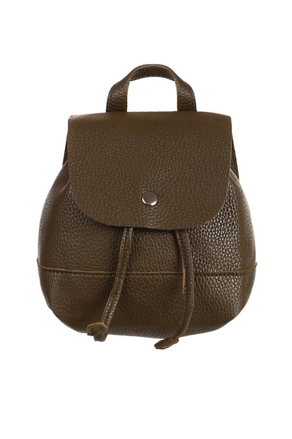 beac44bb32 Glara Dámsky mini koženkový batoh do mesta - Glami.sk