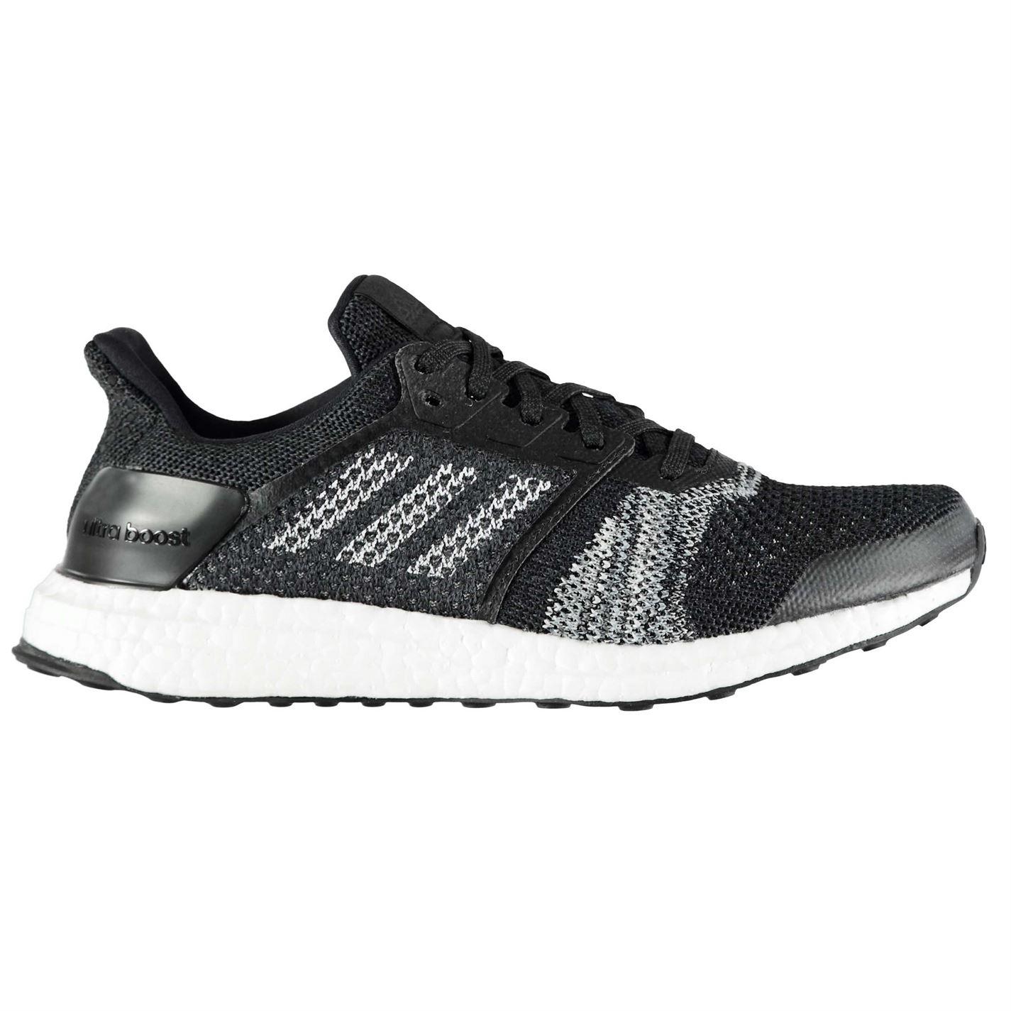 adidas UltraBoost ST pánské běžecké boty Black White - Glami.cz fe0562e630