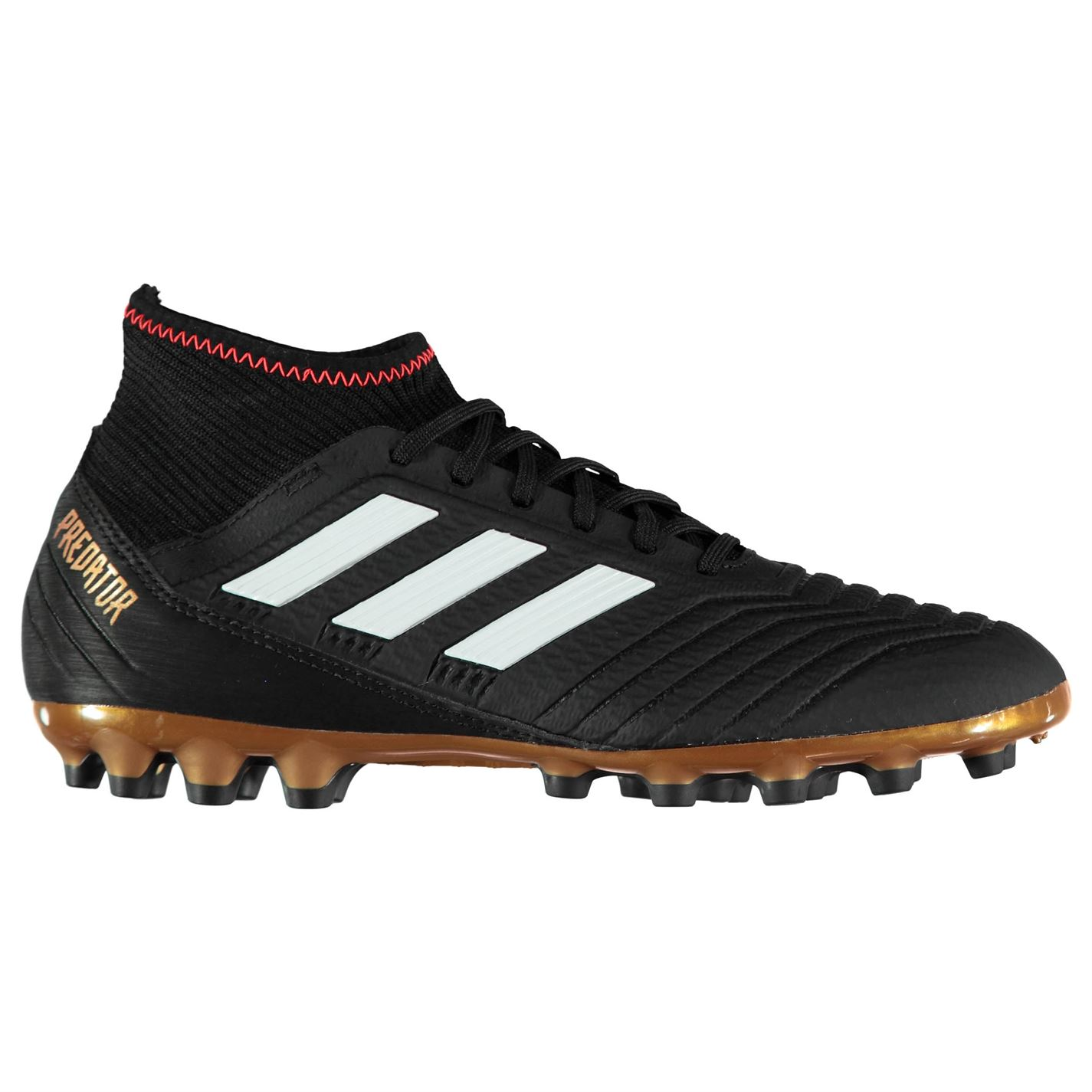 f12ebc0ca adidas Predator 18.3 Mens AG Football Boots Black/White/Red - Glami.cz