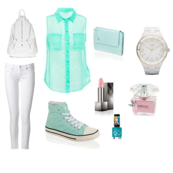 Summery feel to the turquoise