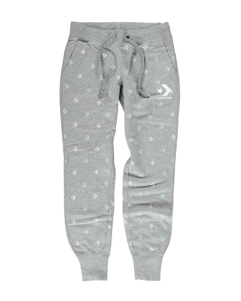 5031c31fe9a9 Dámske sivé teplákové nohavice Converse Star Chevron Print Pant. Dámske  sivé teplákové nohavice Converse ...