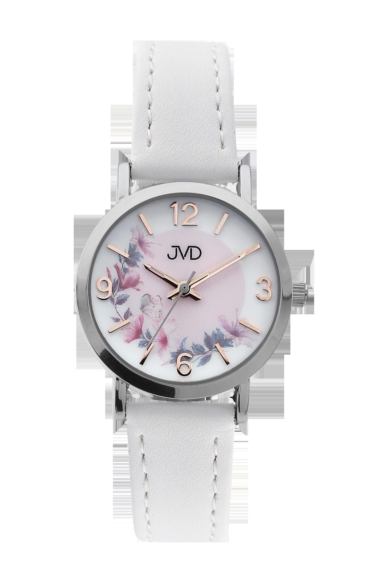 b2b1ad523 Dětské dívčí přehledné náramkové hodinky JVD J7184.4 - Glami.cz