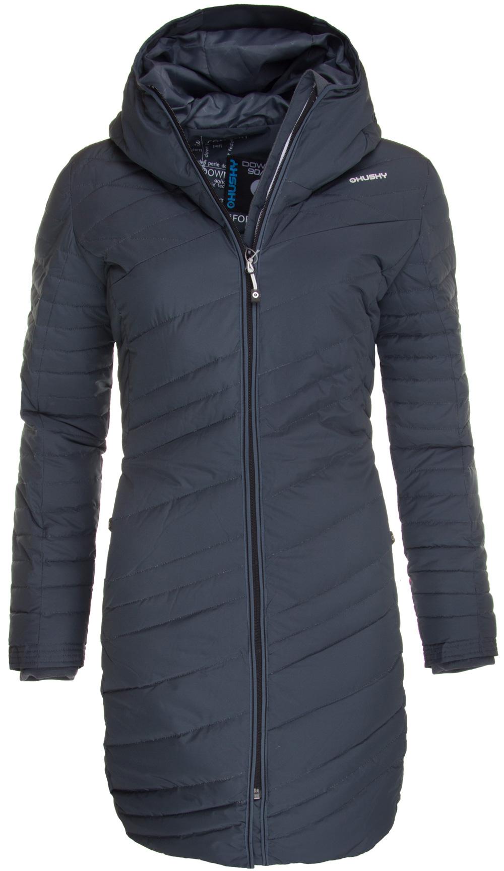 Zimní kabát dámský HUSKY DAILI antracit - Glami.sk e6ff9a1ef2e