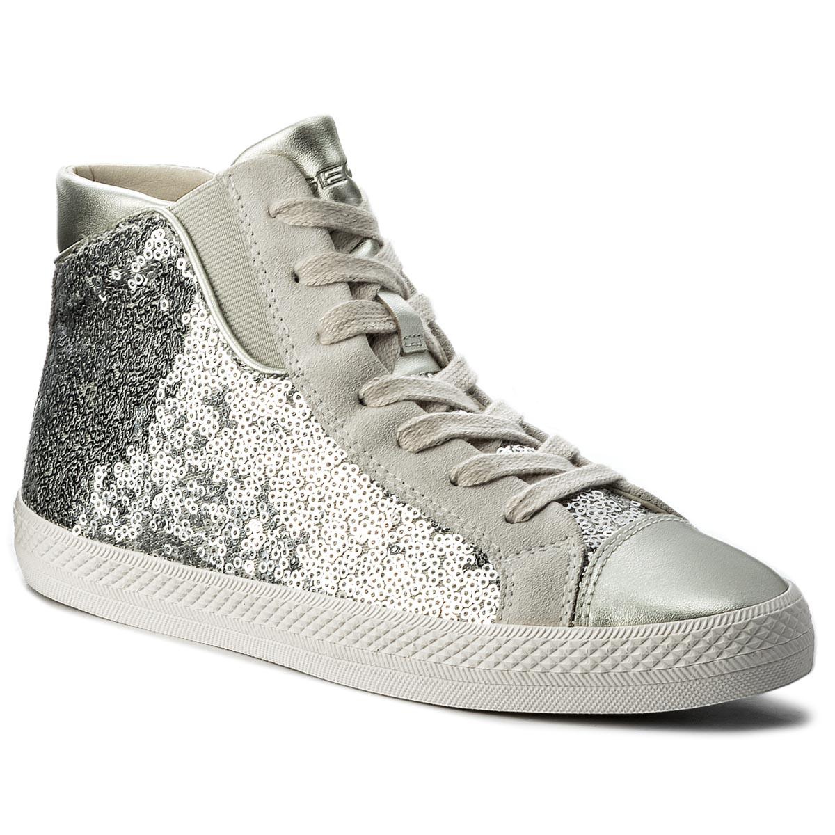 Sneakersy GEOX - D Giyo A D829FA 0ATAJ C1007 Silver - Glami.cz 4ca390a26b