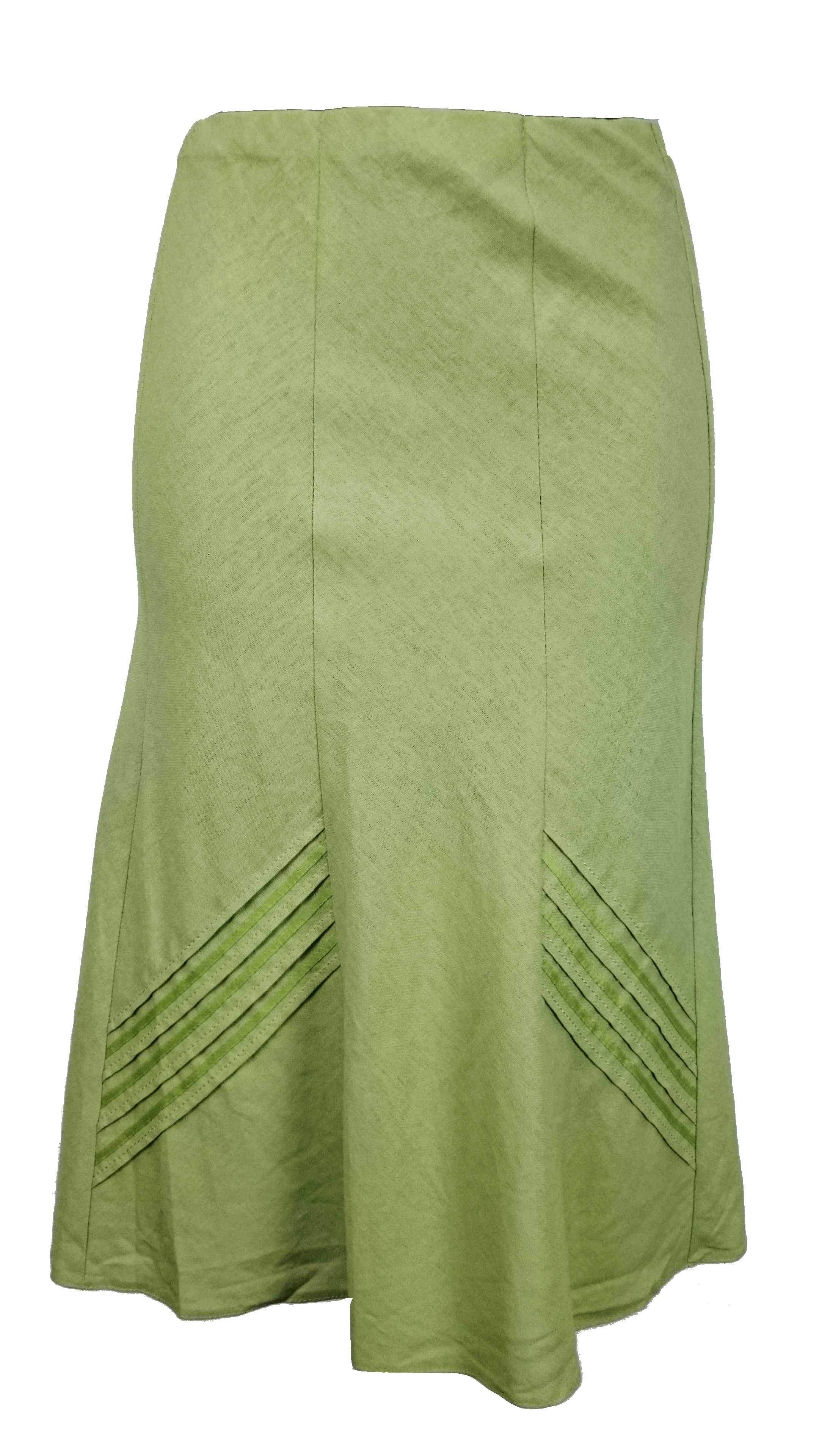 1a545be5e6f BM dámská světle zelená sukně - Glami.cz