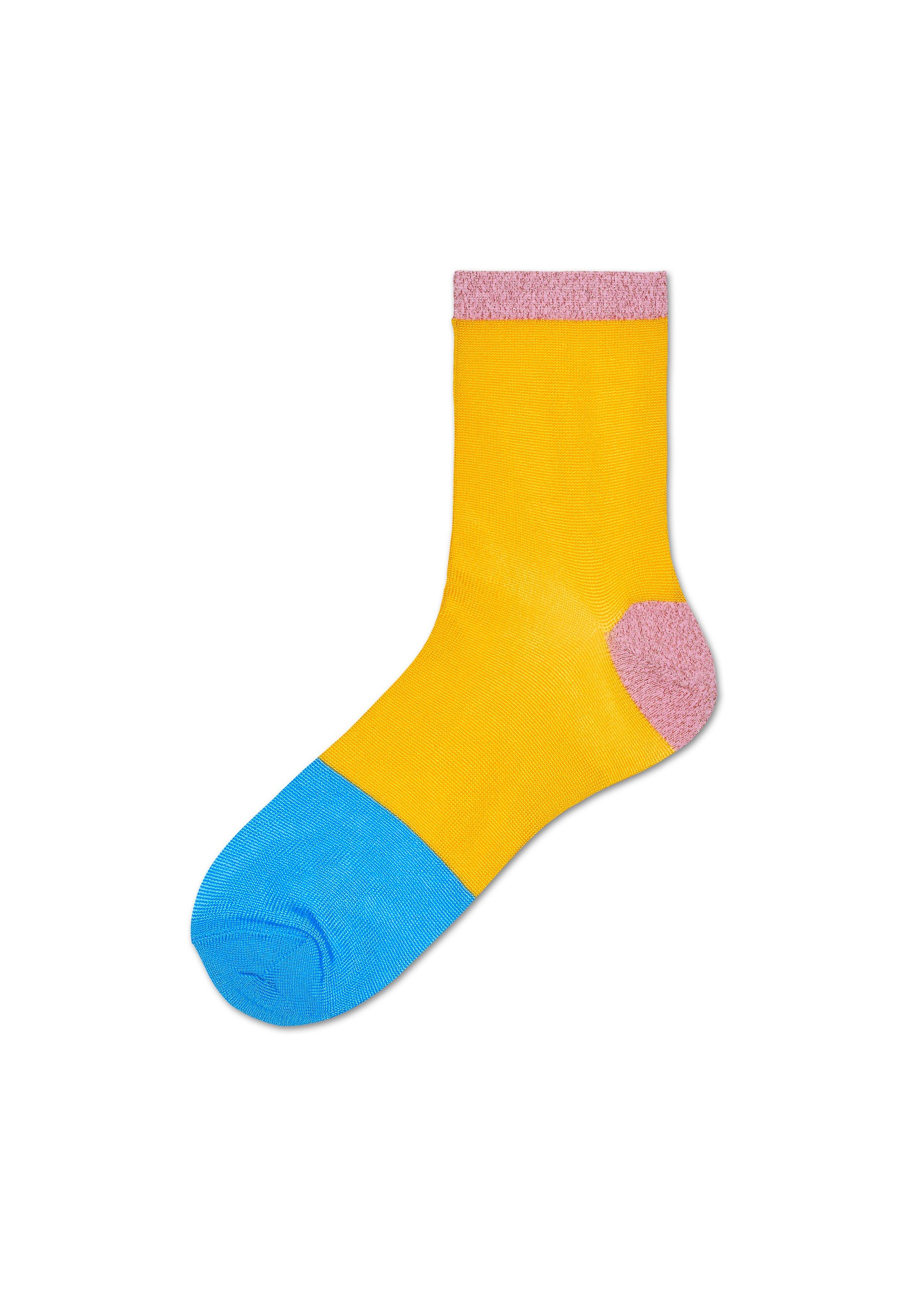 Dámské žluté ponožky Happy Socks Liza    kolekce Hysteria - Glami.cz 09a88d0442