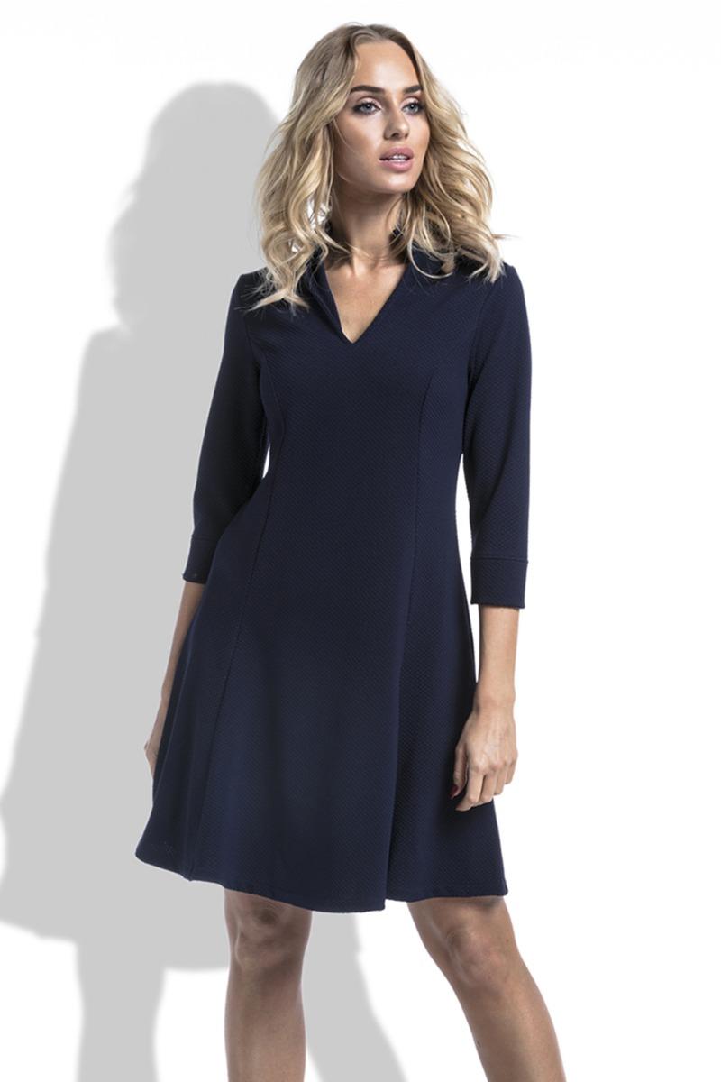Fimfi Tmavě modré šaty I223 - Glami.cz 03054736e84