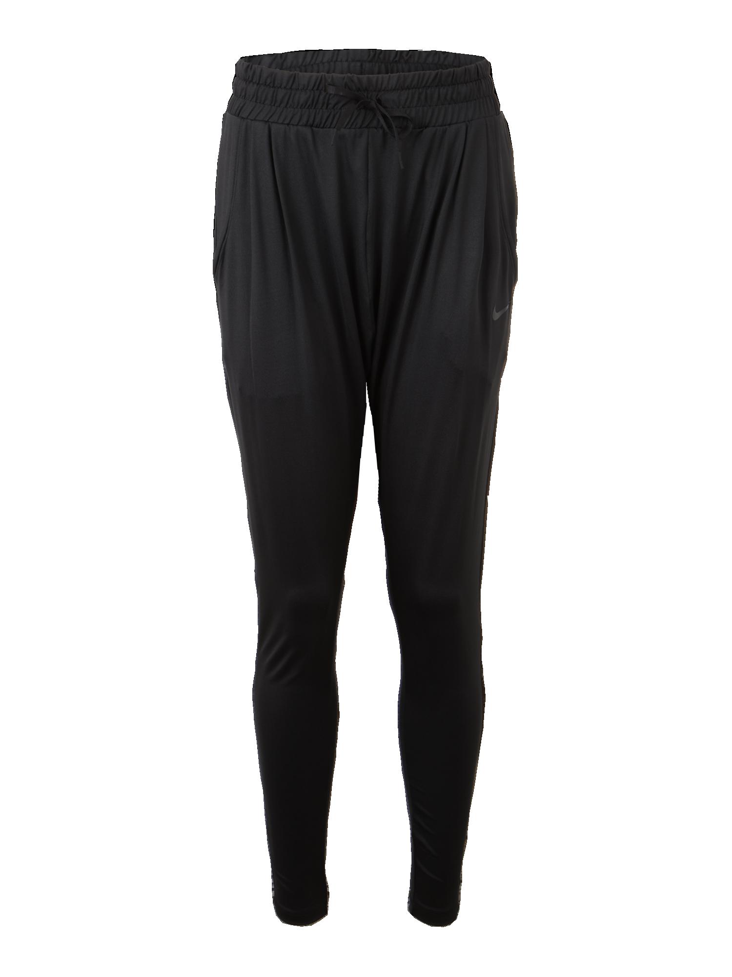 NIKE Sportovní kalhoty  FLOW LUX  černá - Glami.cz d2d50308f1