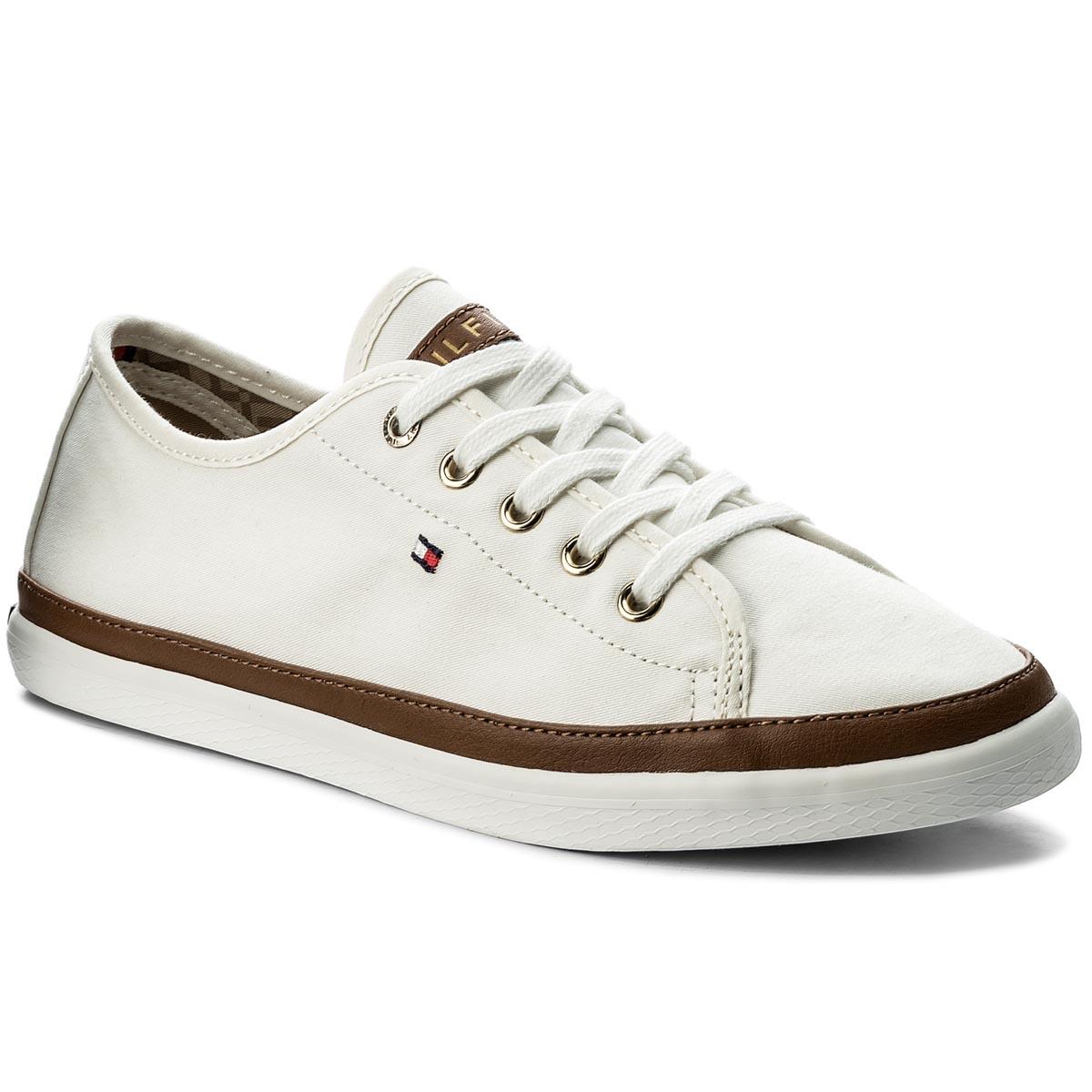 51fcf15501 Tenisky TOMMY HILFIGER - Iconic Kesha Sneaker FW0FW02823 Whisper ...
