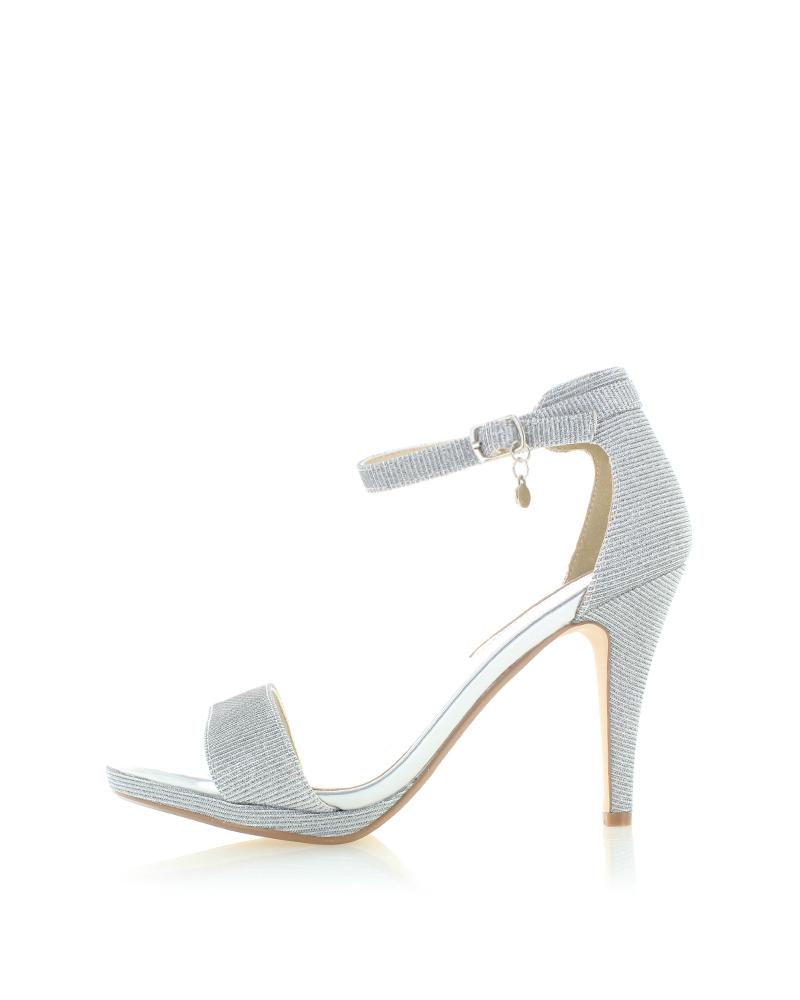 8fd0fd5f8c8 XTI Stříbrné sandály 30696 - Glami.cz