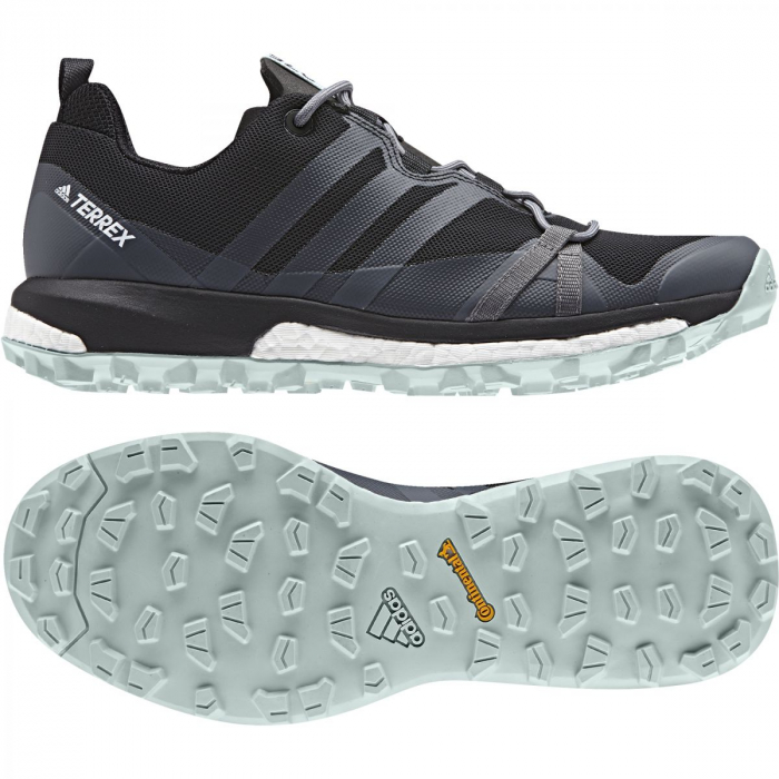 cc4ad889aa820 Dámske outdoorové topánky adidas Performance TERREX AGRAVIC W (Čierna /  Šedá / Zelená). Dámske outdoorové ...