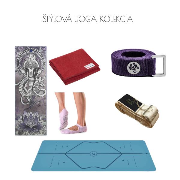 Štýlová joga kolekcia