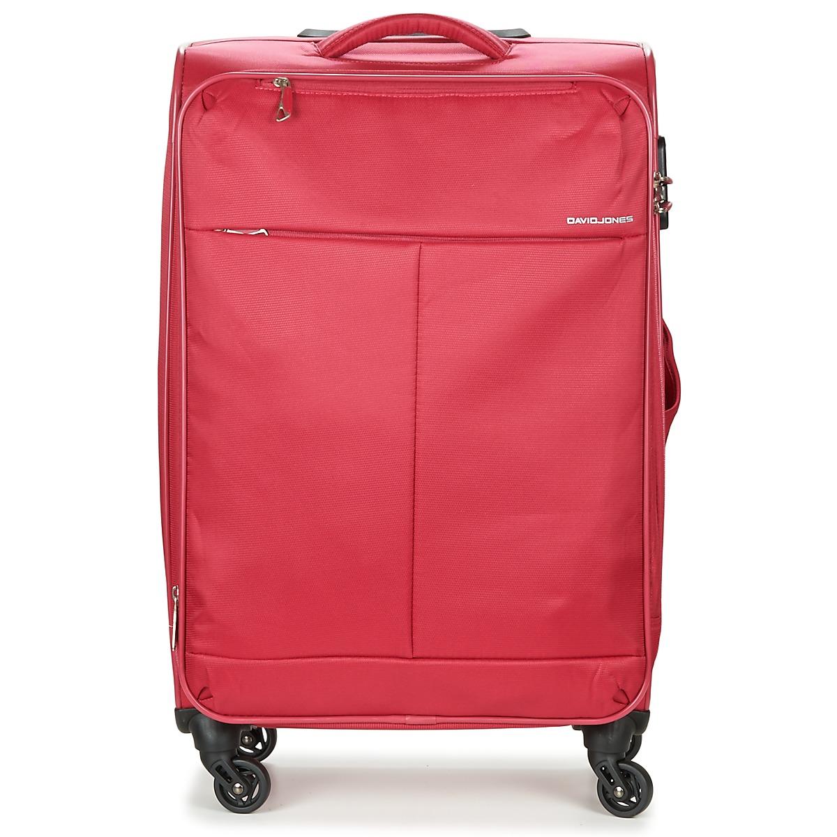 37ac25543 David Jones Pružné cestovné kufre ODORO 53L David Jones - Glami.sk