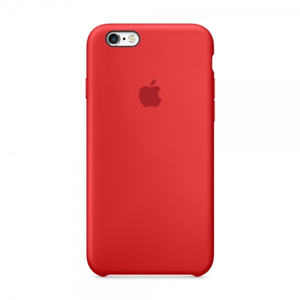 Apple iPhone 6S Silicone Case Červené - Glami.cz 6d8f8df7cef