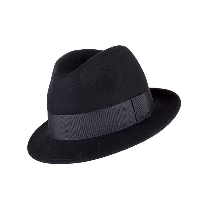de677609c10 Pánský černý klobouk Assante 85032 - Glami.cz