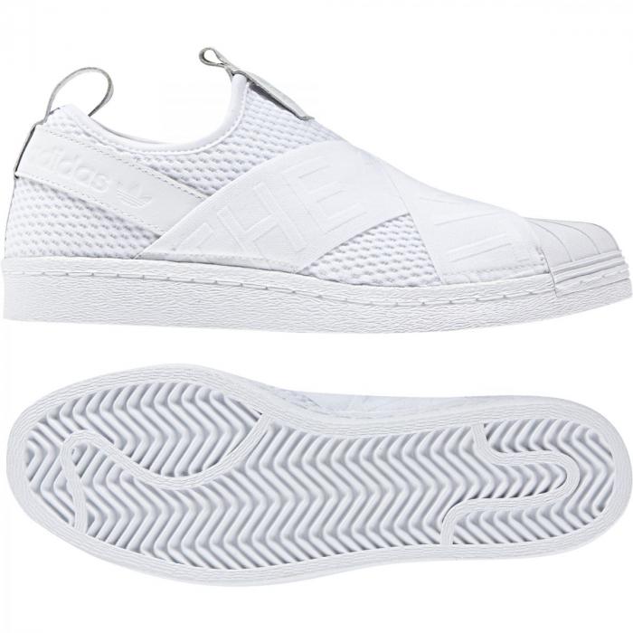 db9f60fa846dd Dámske tenisky adidas Originals SUPERSTAR SLIPON W (Biela / Čierna). 1